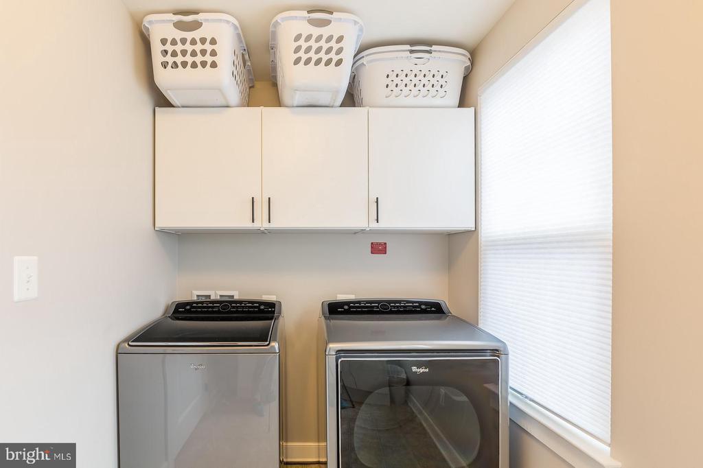 The laundry room - 17109 GULLWING DR, DUMFRIES