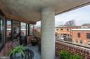 Terrace overlooking the canal - 1015 33RD ST NW #702, WASHINGTON