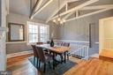 BRIGHT DINING ROOM - 10311 DETRICK AVE, KENSINGTON
