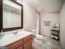 Lower Level Full Bathroom - 43075 BARONS ST, CHANTILLY