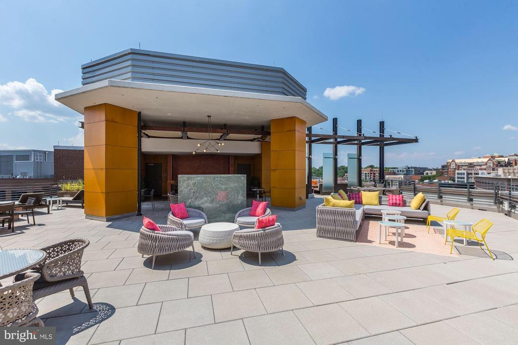 Impressive Rooftop  Deck Ideal for Entertaining - 7171 WOODMONT AVE #301, BETHESDA