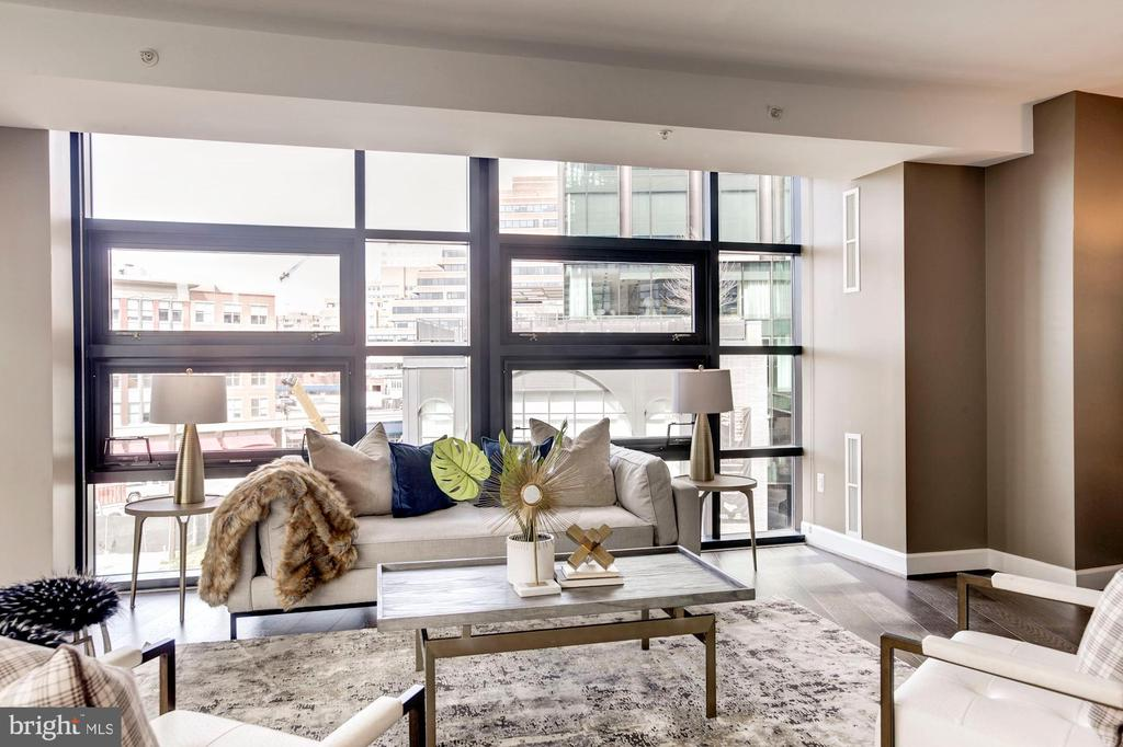 Floor to Ceiling Windows - 7171 WOODMONT AVE #301, BETHESDA