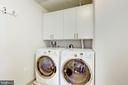 Full Size Laundry Room with Folding Area - 7171 WOODMONT AVE #301, BETHESDA