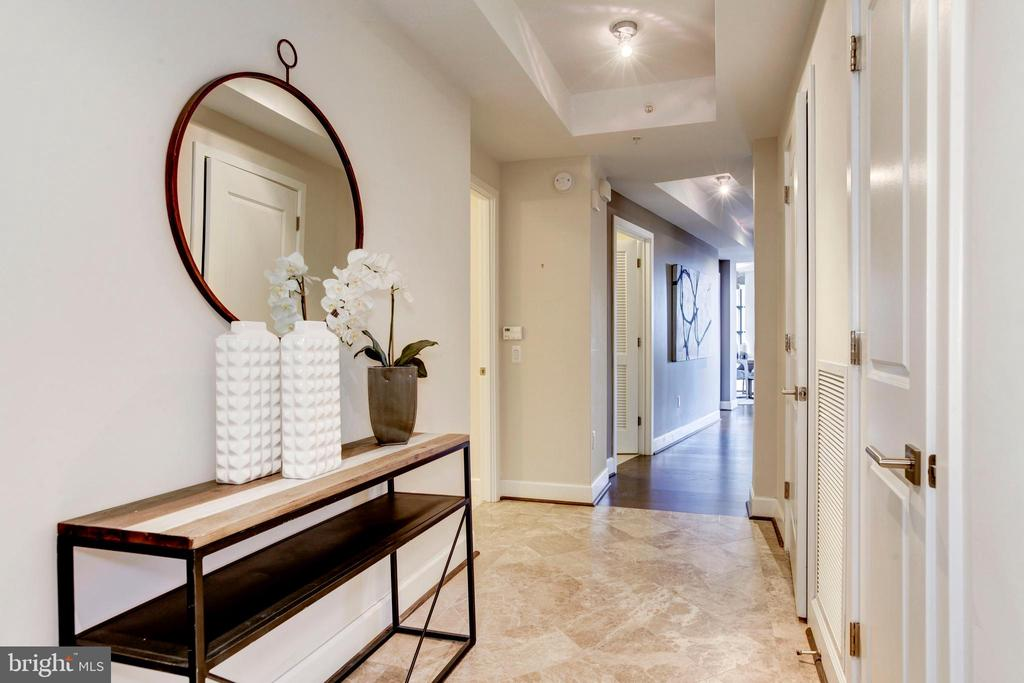 Foyer - 7171 WOODMONT AVE #301, BETHESDA
