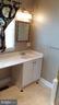 Vanity in main level master bath. - 239 W MARKET ST, LEESBURG