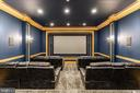 Movie Theater w/Tiered Seating - 11345 ALBERMYRTLE RD, POTOMAC