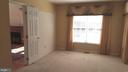 Main level master suite has lots of natural light. - 239 W MARKET ST, LEESBURG