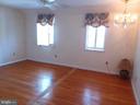 Second floor bedroom  faces West Market. - 239 W MARKET ST, LEESBURG