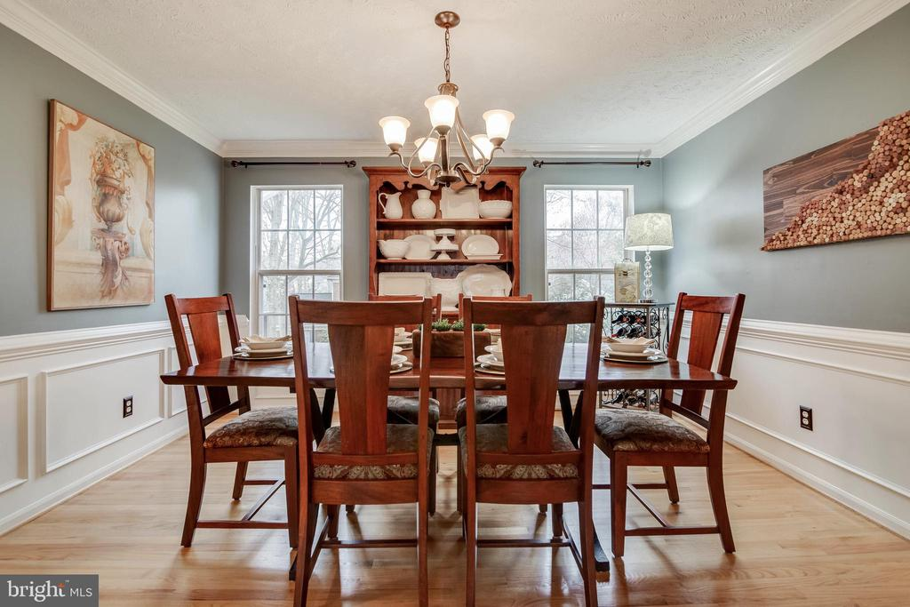 Dining Room - 16731 TINTAGEL CT, DUMFRIES