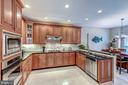 Huge Kitchen w/ Cherry Cabinets - 20024 VALHALLA SQ, ASHBURN