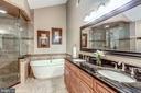 Completely Renovated Bath w/ Heated Tile Floors - 20024 VALHALLA SQ, ASHBURN