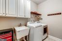 Large Laundry w/ Sink and Cabinets - 20024 VALHALLA SQ, ASHBURN