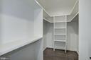 Walk-in closet bedroom #3 - 1916 RHODE ISLAND AVE, MCLEAN