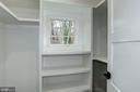 Walk-in closet bedroom #4 - 1916 RHODE ISLAND AVE, MCLEAN