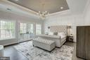 Gorgeous masterbedroom with Juliette balcony - 1916 RHODE ISLAND AVE, MCLEAN