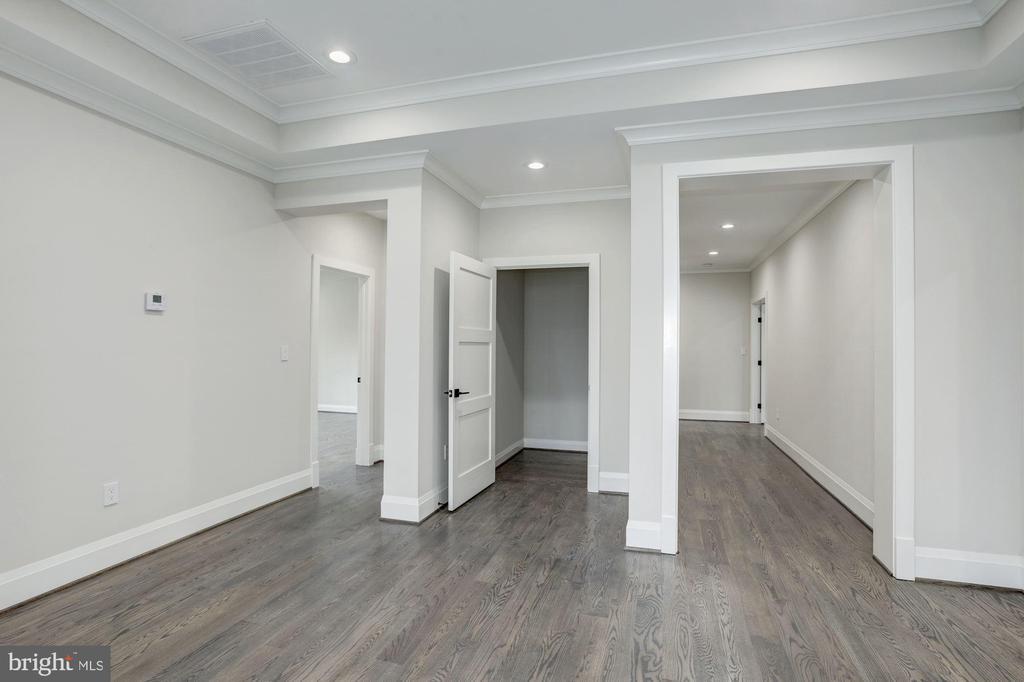 Elevator pre-fit, hallway to Master Bedroom - 1916 RHODE ISLAND AVE, MCLEAN