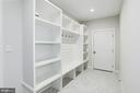 Lower level mudroom with built-ins - 1916 RHODE ISLAND AVE, MCLEAN