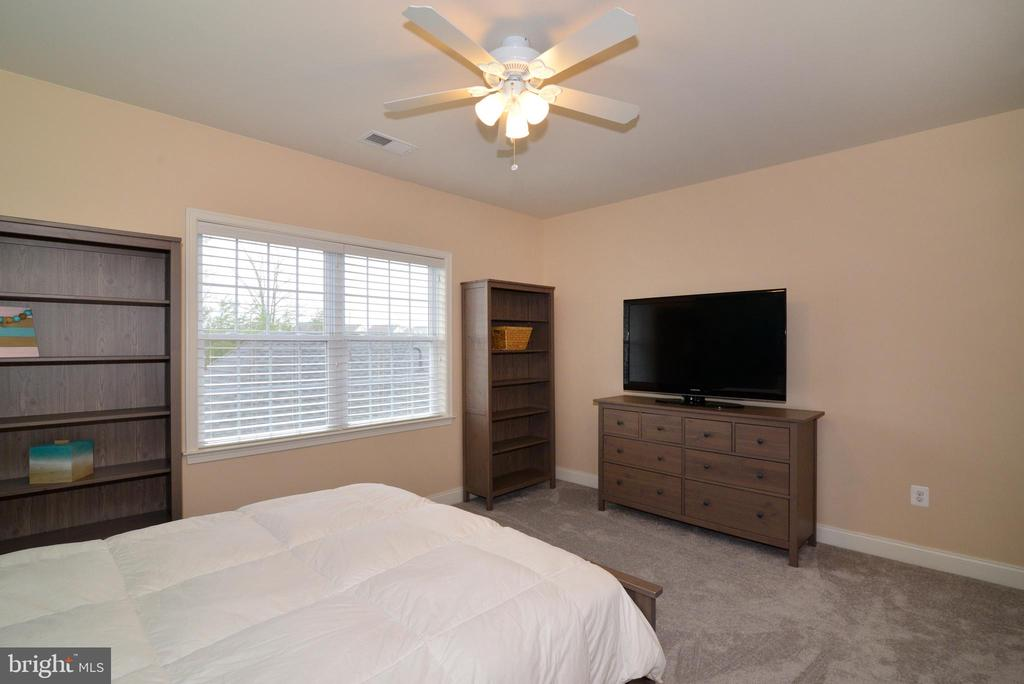 Bedroom 2 with Another View plus Fan - 22988 CHERTSEY ST, ASHBURN