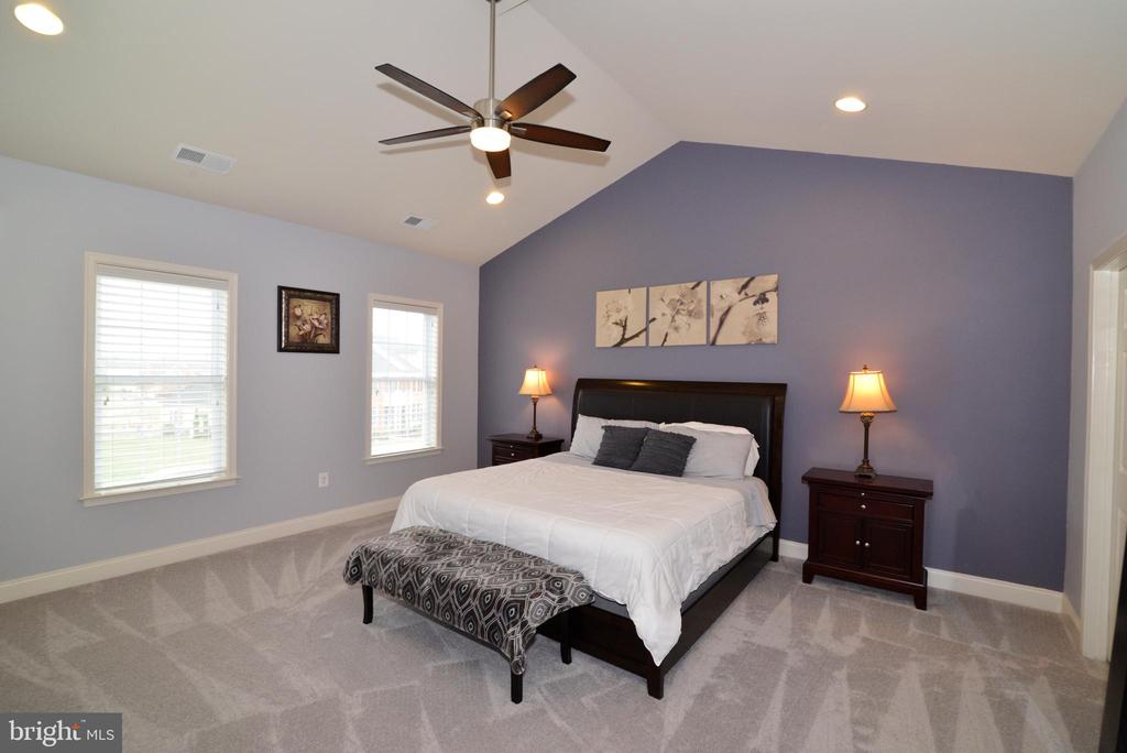 Master Bedroom with Vaulted Ceiings - 22988 CHERTSEY ST, ASHBURN