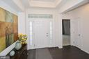 Foyer with tray ceiling - 25693 ARBORSHADE PASS PL, ALDIE
