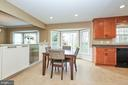 Breakfast Area - 13356 GLEN TAYLOR LN, HERNDON