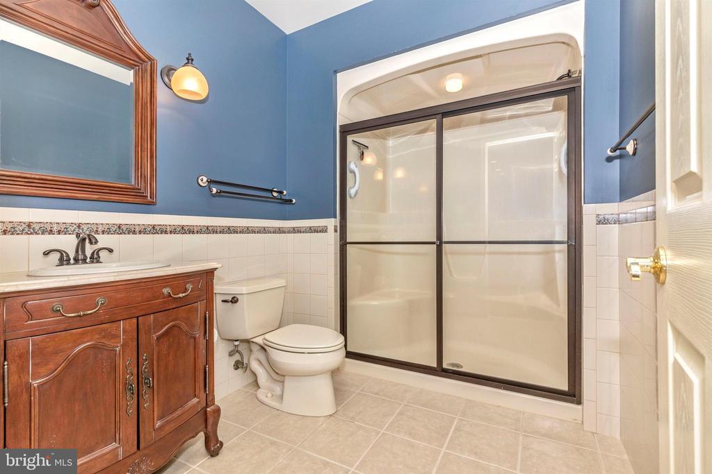 Full bath in lower level. Scrumptious! - 7799 COBLENTZ RD, MIDDLETOWN