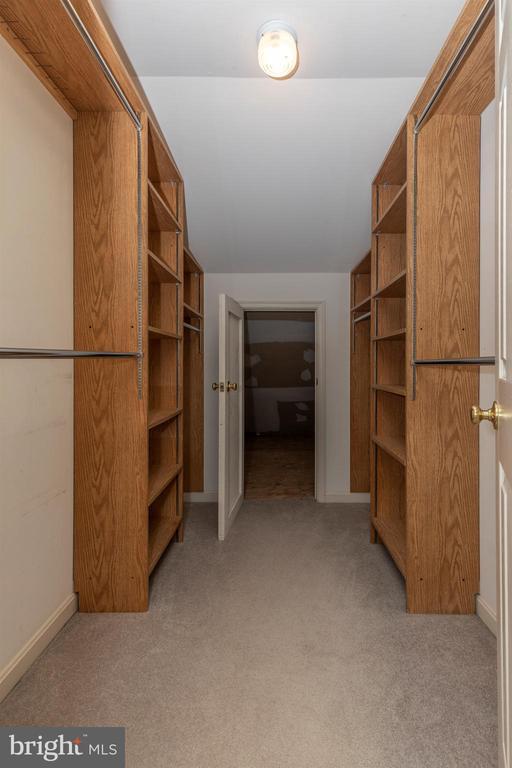 MBR walk in closet has floored attic storage. - 7799 COBLENTZ RD, MIDDLETOWN