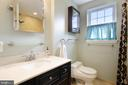 Renovated full bathroom - 4722 30TH ST S, ARLINGTON
