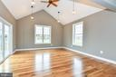 Breakfast nook/Sunroom with slider to deck - 4802 COWMANS CT NORTH, MOUNT AIRY