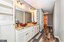Master bath w/tiled floors - 4802 COWMANS CT NORTH, MOUNT AIRY