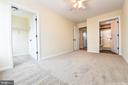 Mini Master w/walk-in closet and bathroom - 4802 COWMANS CT NORTH, MOUNT AIRY