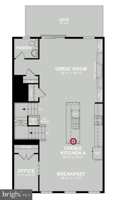 Second Level Floor Plan - 1599 MEADOWLARK GLEN RD, DUMFRIES