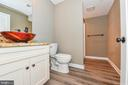 Full basement bathroom with shower - 4802 COWMANS CT NORTH, MOUNT AIRY