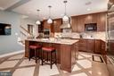 Kitchen is stunning - 6804 BROXBURN DR, BETHESDA