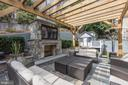 Mulit-Level Patios with Pergola, Fireplace & TV - 2330 N VERMONT ST, ARLINGTON