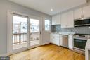 Kitchen Leads to Deck - 1215 TRINIDAD AVE NE, WASHINGTON