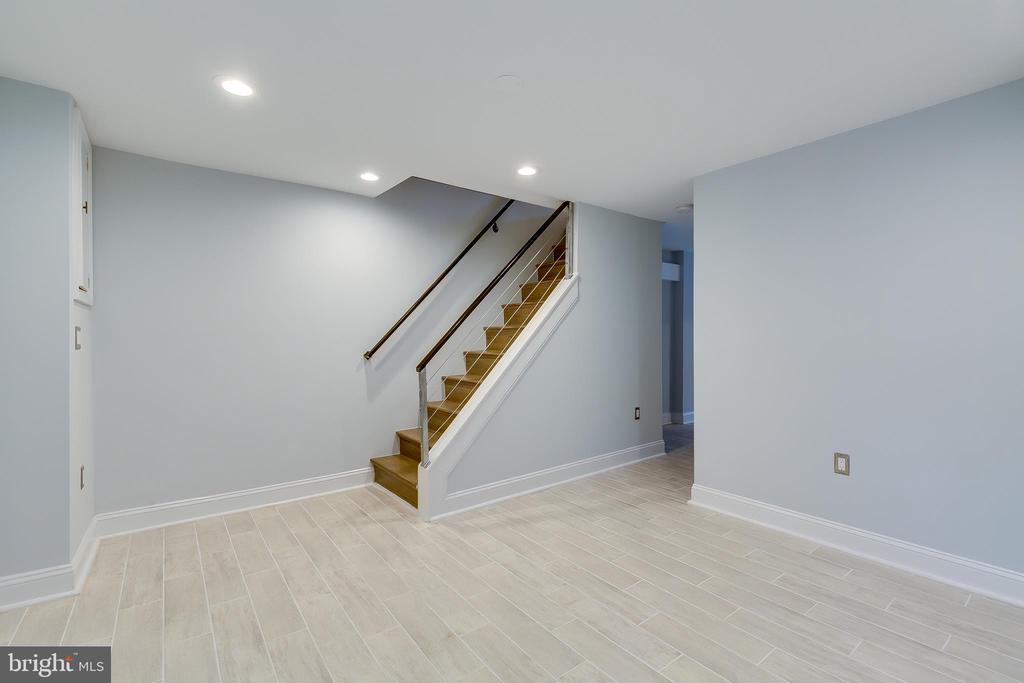 Lower Level Entertainment Room - 1215 TRINIDAD AVE NE, WASHINGTON