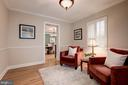 The perfect reading room! - 6804 BROXBURN DR, BETHESDA