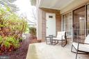 Patio - 1948 KENNEDY DR #101, MCLEAN