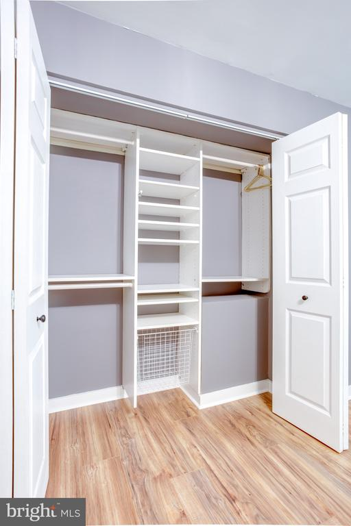 2nd Closet in Master!!  Look at space - 1948 KENNEDY DR #101, MCLEAN