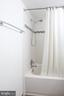 Shower area , ceramic tile floors - 1948 KENNEDY DR #101, MCLEAN