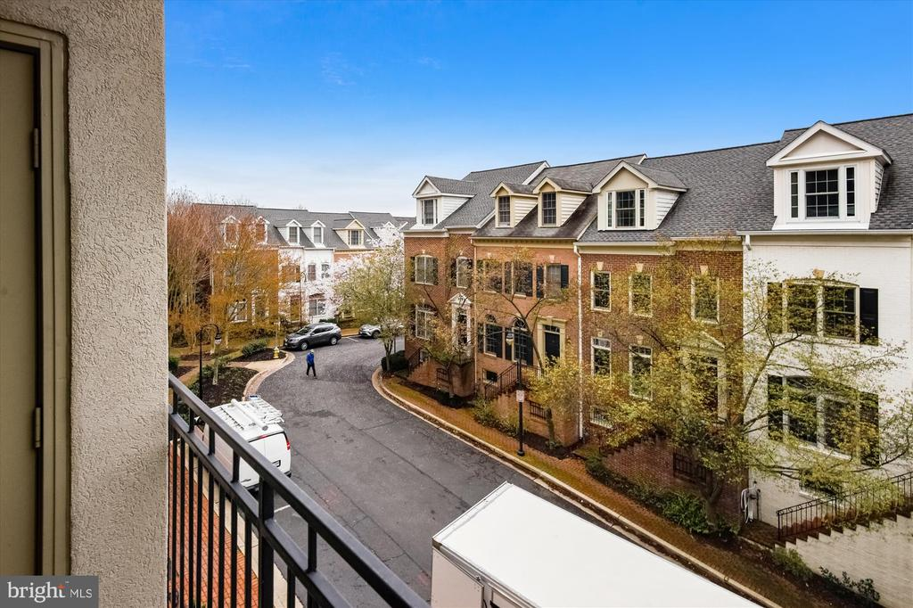 Balcony view - 1321 N ADAMS CT #308, ARLINGTON