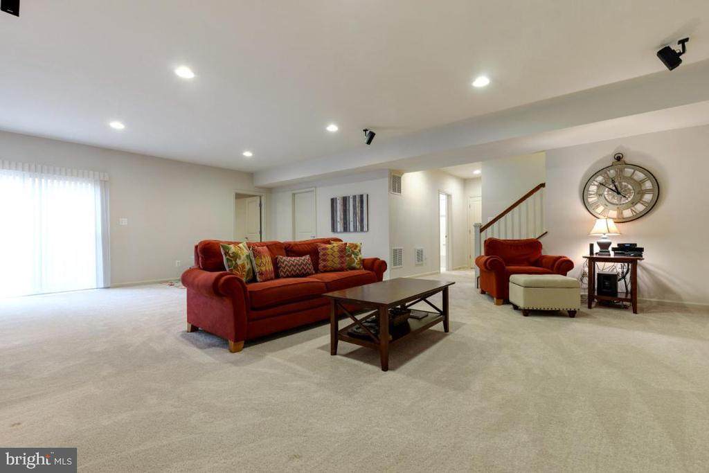 Walkup Level Rec Room - 23578 PROSPERITY RIDGE PL, BRAMBLETON