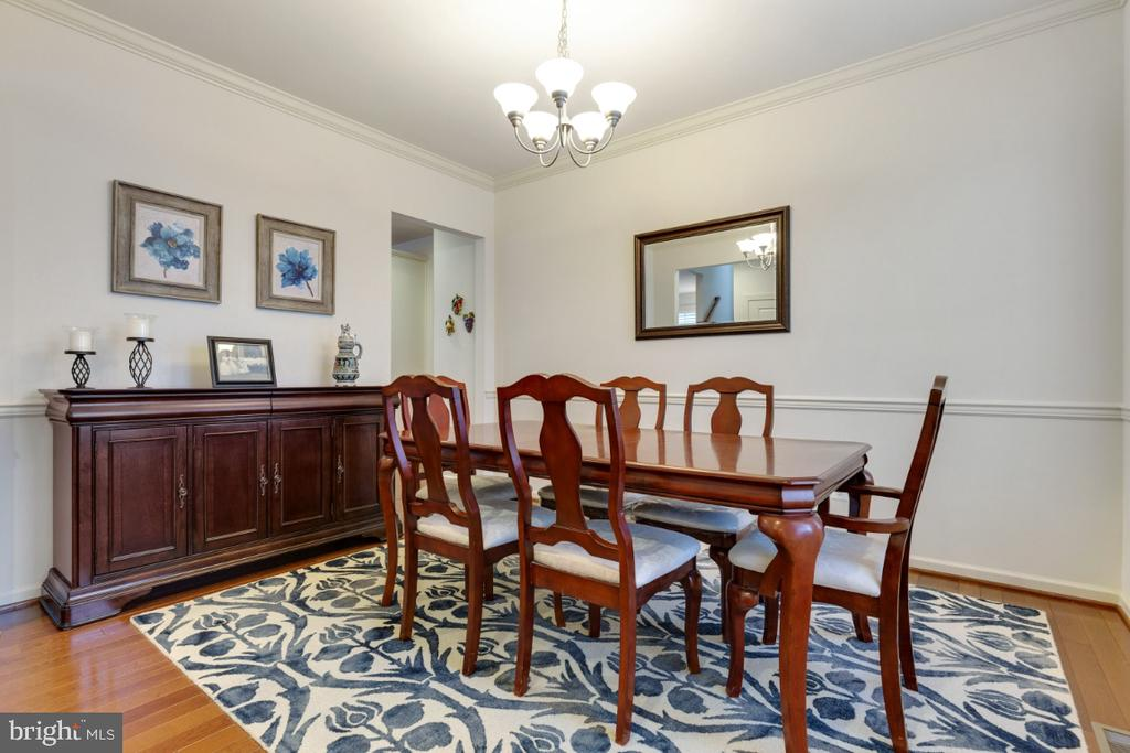 Formal Dining Room - 23578 PROSPERITY RIDGE PL, BRAMBLETON