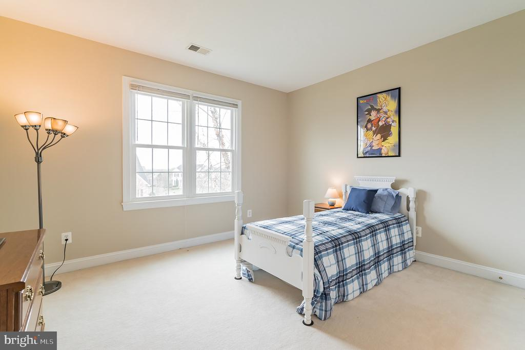 Front left bedroom - 25543 THORNBURG CT, CHANTILLY
