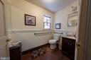 Hall Bath on Main Level - 208 S QUEEN ST, MARTINSBURG