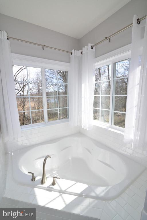 Master bath suite w/ separate tub/shower - 55 STONE OAK PL, ROUND HILL