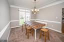 Dining Room - 6126 MARINEVIEW RD, KING GEORGE