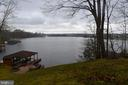 View of lake from rear yard - 6220 BELMONT RD, MINERAL