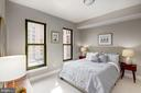 Master Bedroom - Large Windows = Great Sunlight! - 910 M ST NW #525, WASHINGTON